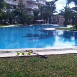 zwembad NF met racket