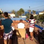 foto bij tennisprogramma